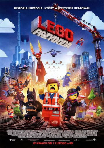 Przód ulotki filmu 'Lego Przygoda'