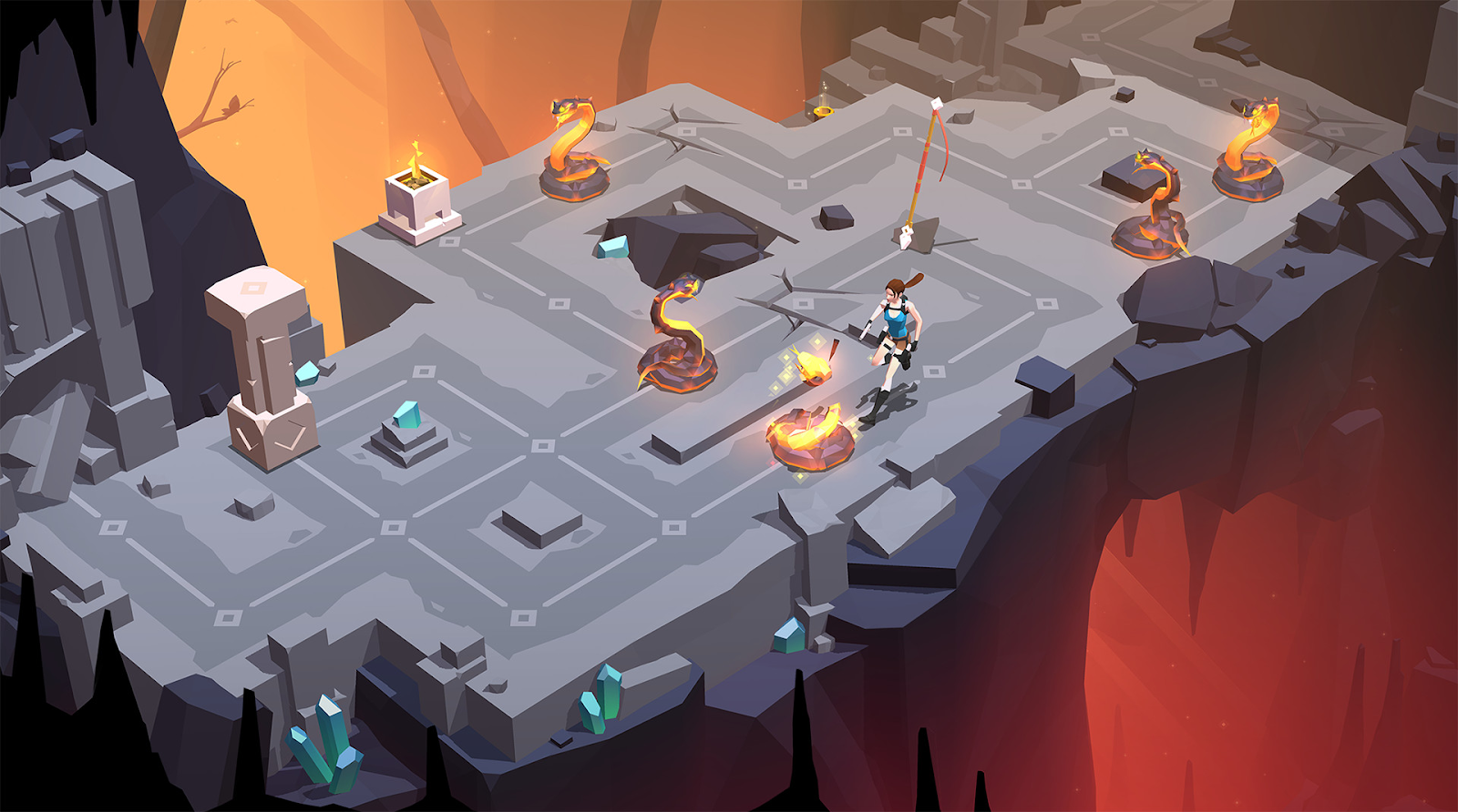 Screenshot Lara Croft GO
