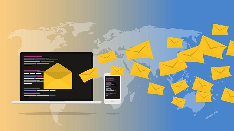 Email Marketing sent around the globe