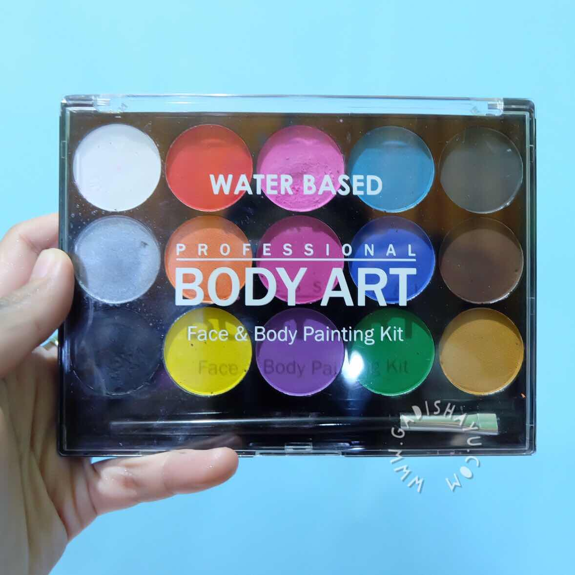 water based body art face painting