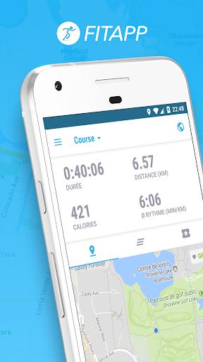 Fitness GPS Tracker Course à pied, Cyclisme FITAPP– Vignette de la capture d'écran