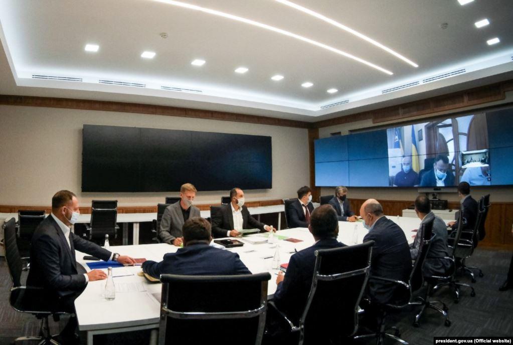 В Офісі президента обговорили створення високогірного всесезонного спортивно-туристичного кластеру в Карпатах