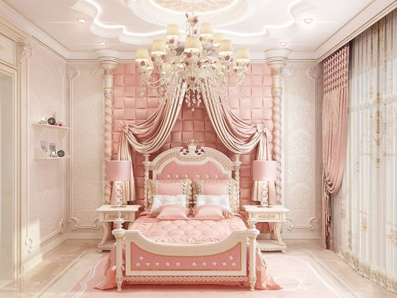 Princess Themed for Pink Bedroom