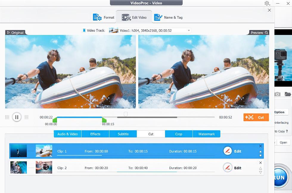 GoPro Editing Software