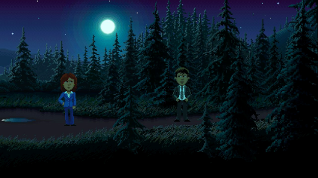 THIMBLEWEED PARK retro video game