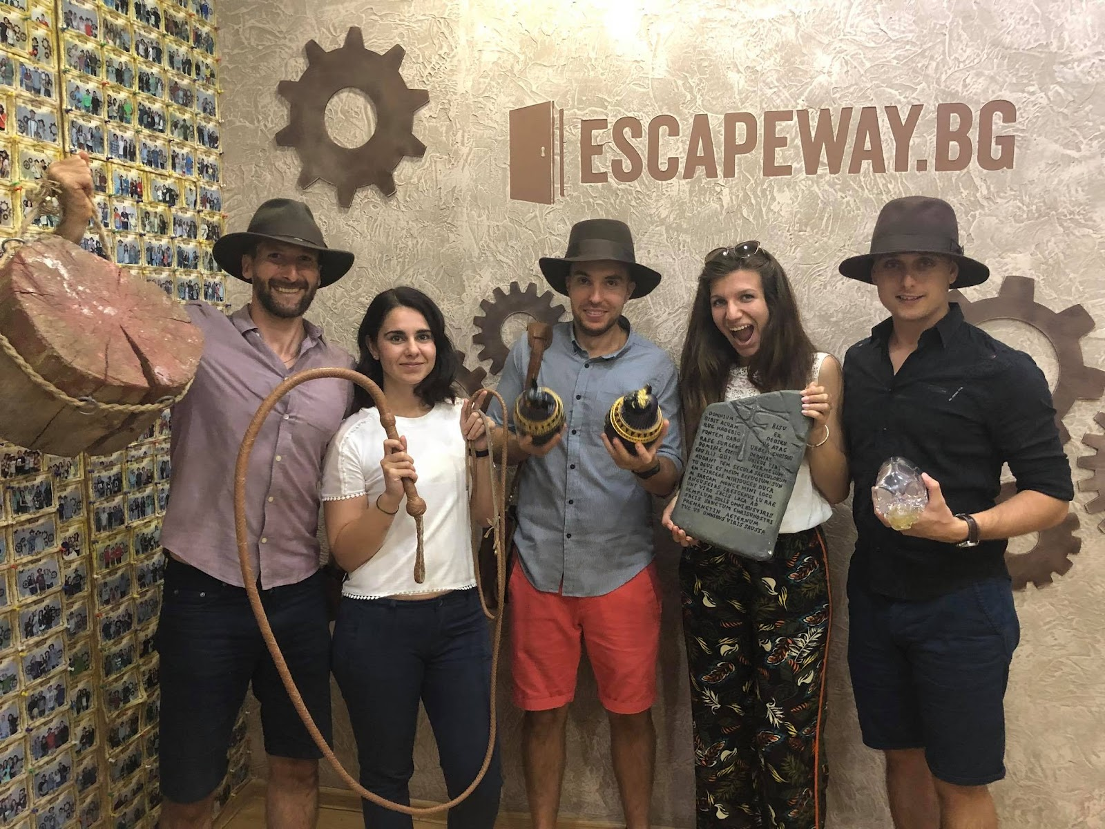 Xplora на Escape room