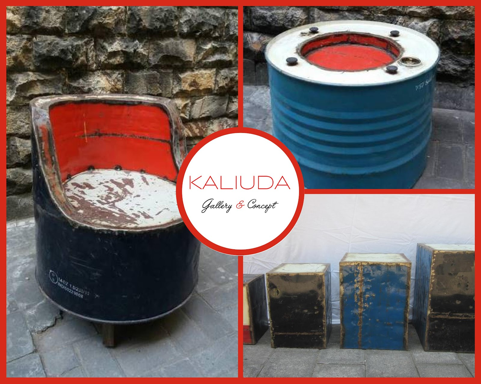 Industral Collection Available from Kaliuda Gallery