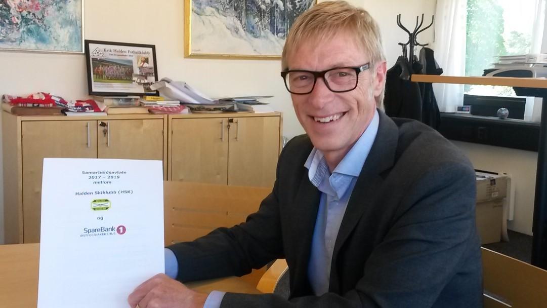 Fornyet samarbeidsavtale med SpareBank1 Østfold-Akershus