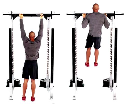 Tập luyện hít xà đơn thụ động để cơ bắp tay cuồn cuộn