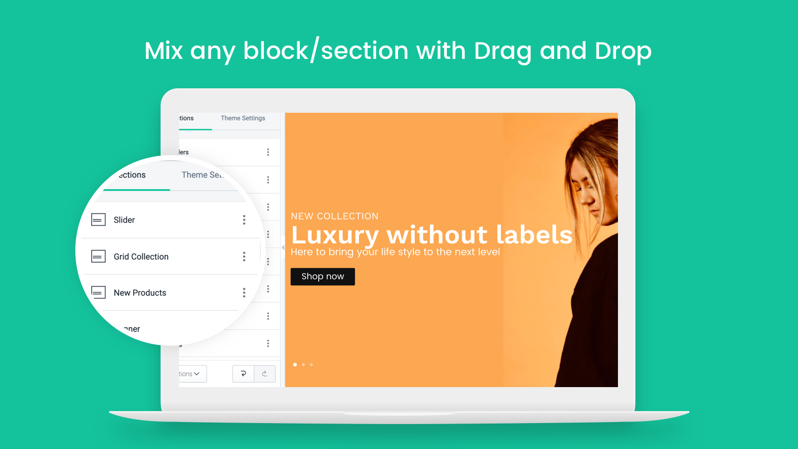 Simple page builder but Powerful