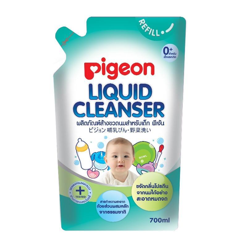 4. Pigeon น้ำยาล้างขวดนม Liquid Cleanser