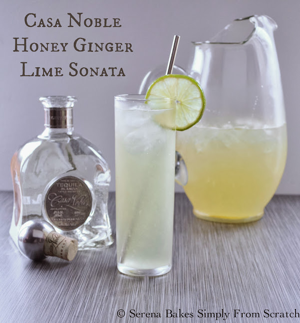Casa Noble Honey Ginger Lime Sonata the perfect cocktail for entertaining.