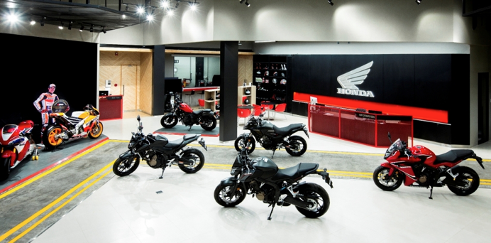 A Honda showroom: Buying a Motorcycle in Vietnam