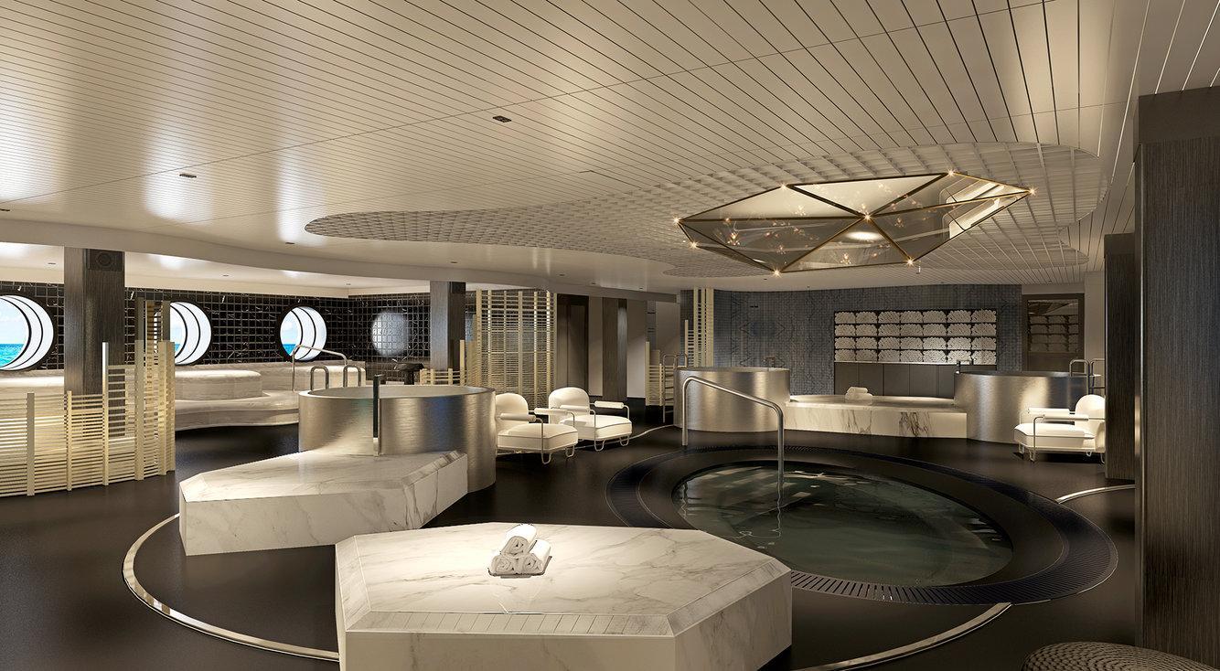 Chiêm ngưỡng du thuyền lãng mạn hiện đại chỉ dành cho người lớn của tỷ phú Richard Branson: Không gian bắt mắt, dịch vụ hoàn hảo chưa từng có trên đời - Ảnh 17.