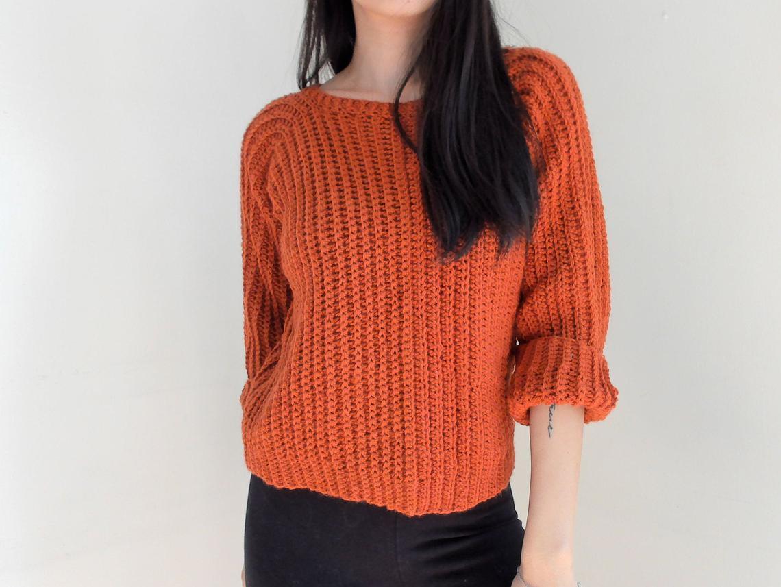 crochet Christmas gift idea - sweater