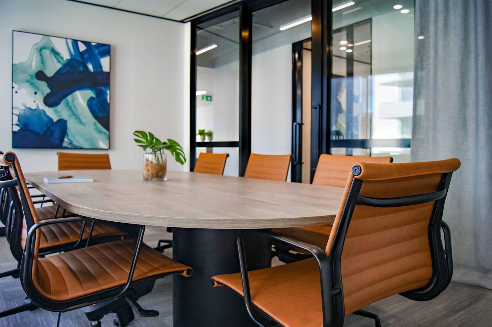 Meeting Room In A Premium Virtual Office
