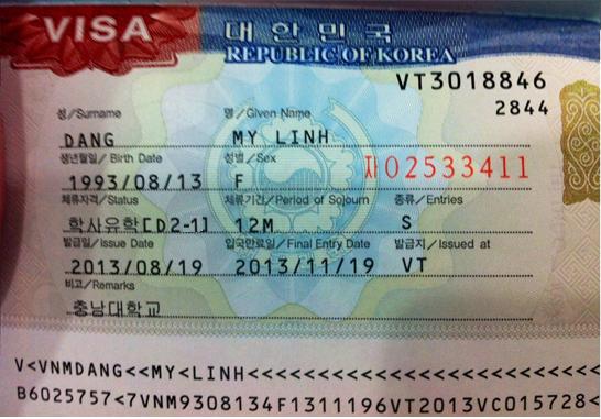 Chương trình du học cao đẳng Hàn Quốc visa D2-1