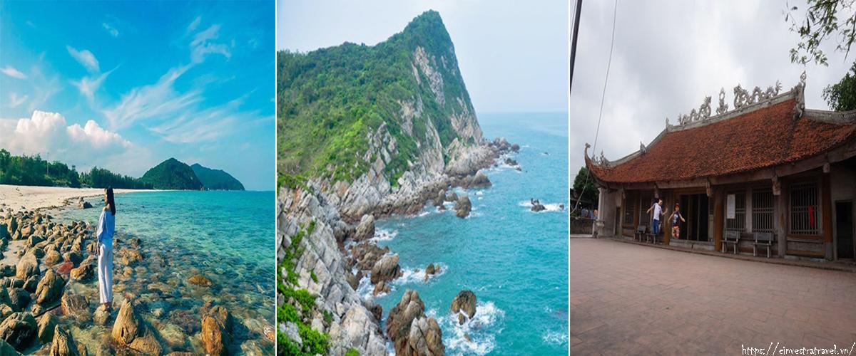 Tour du lịch Hà Nội- Minh Châu- Quan Lạn 3 ngày 2 đêm