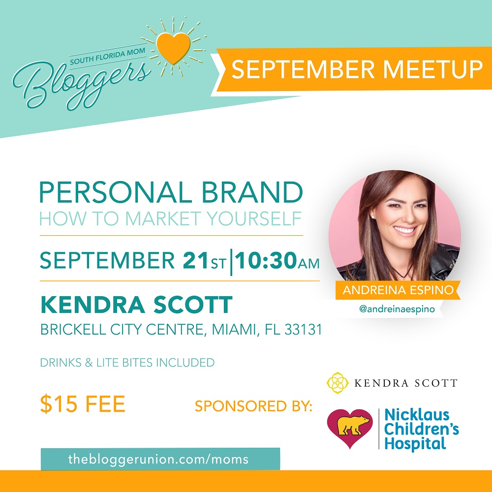 South Florida Mom Bloggers September Meetup