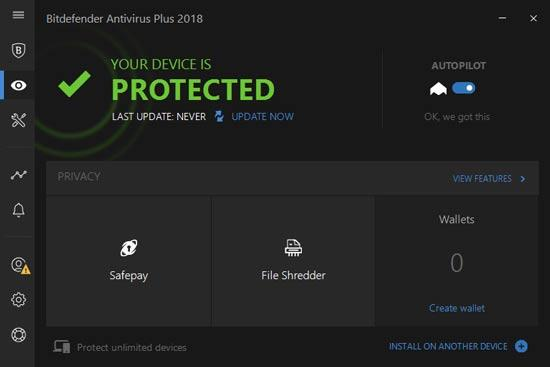 Image result for Bitdefender plus antivirus 2018