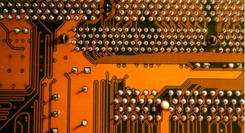 PCB traces and solder balls