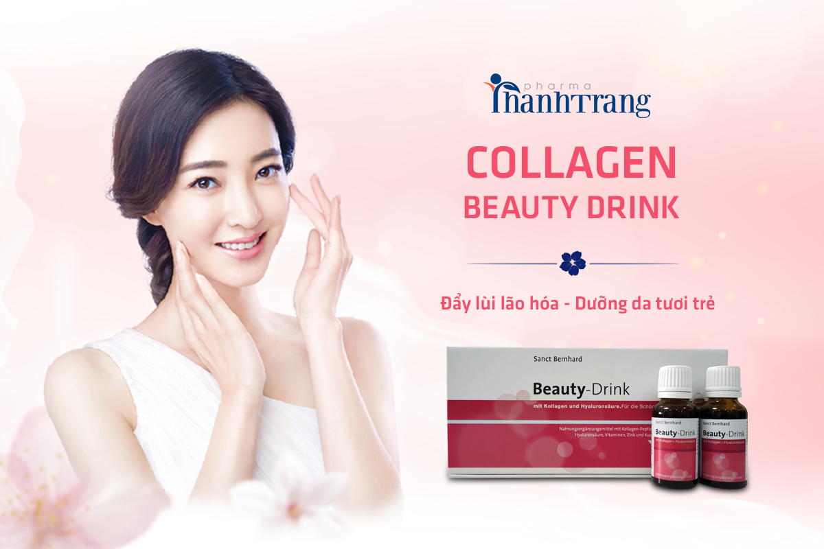 Uống Collagen Beauty Drink tốt nhất hiện nay