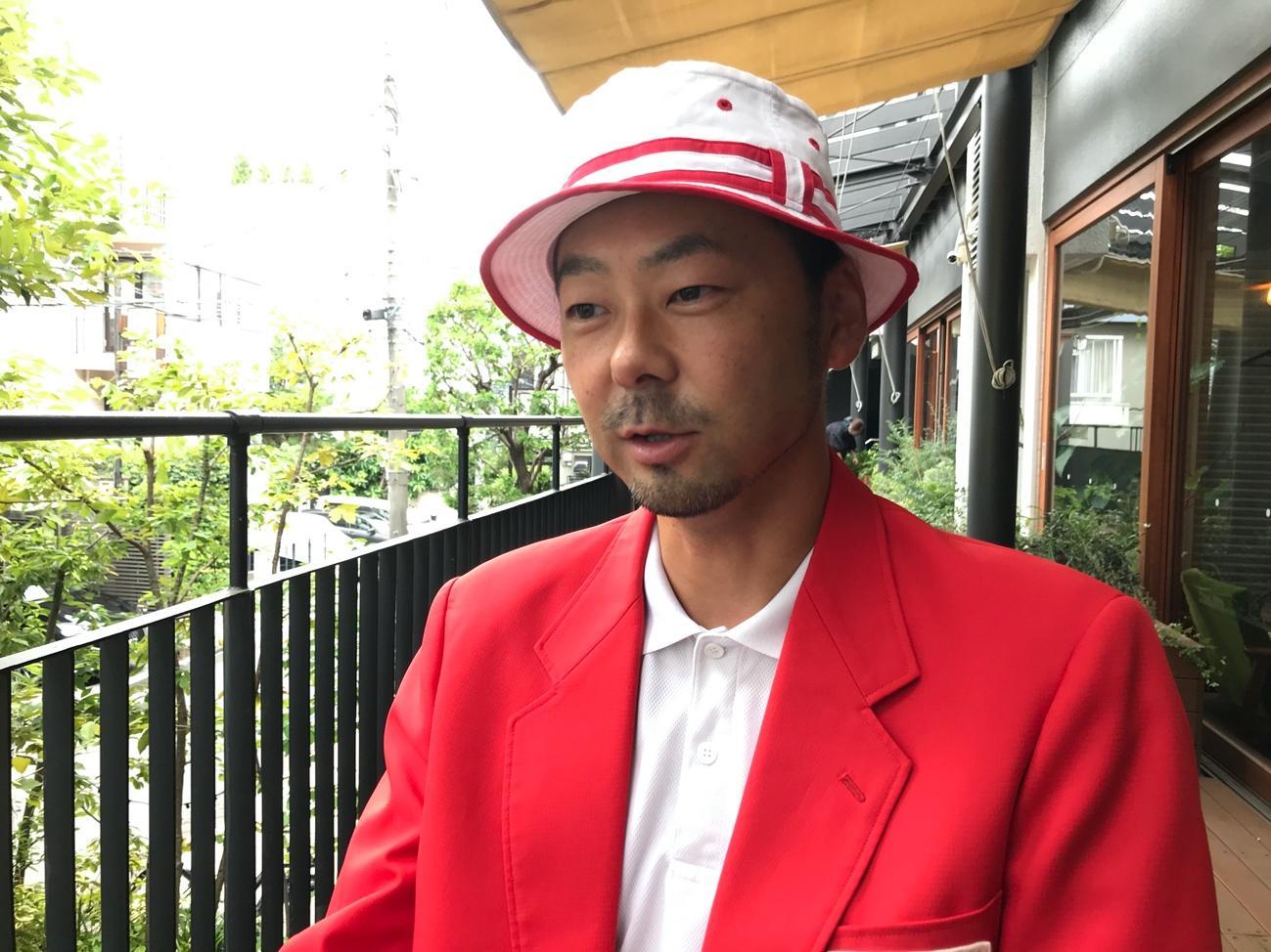 株式会社運動会屋代表取締役の米司さんの写真