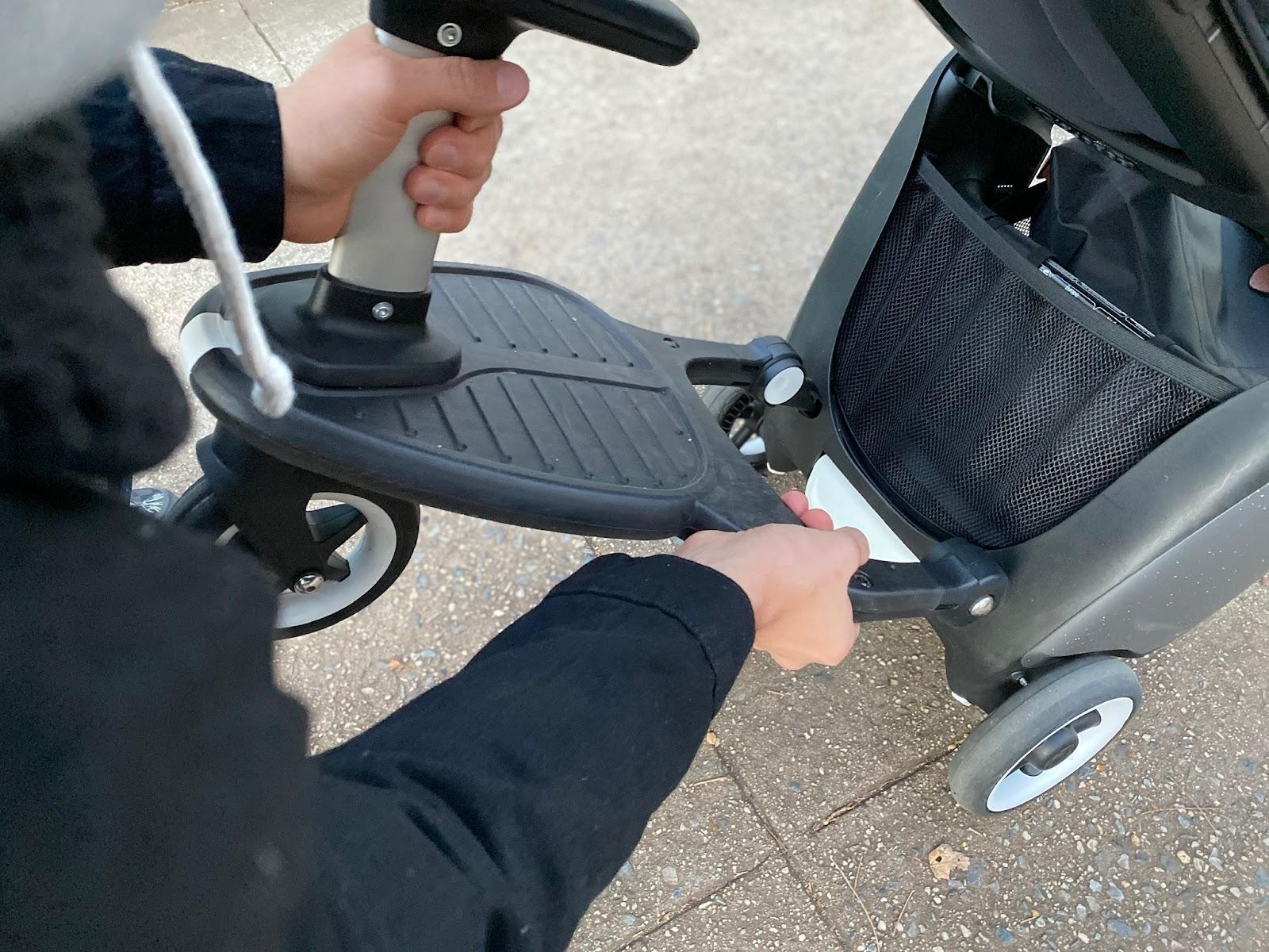 bugaboo ant stroller review: stroller board