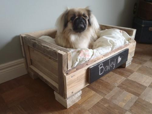 Diy Pallet Dog Beds