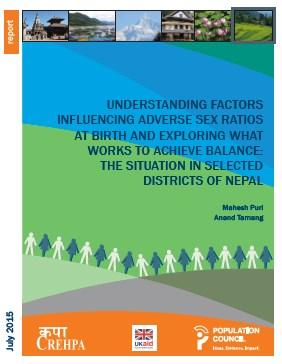 C:\Users\marge\ownCloud\Campaign Team Folder\Logos & Images\Newsletters 2016\Newsletter images Feb 2016\CREPHA Report on sex selection in Nepal cover.jpg