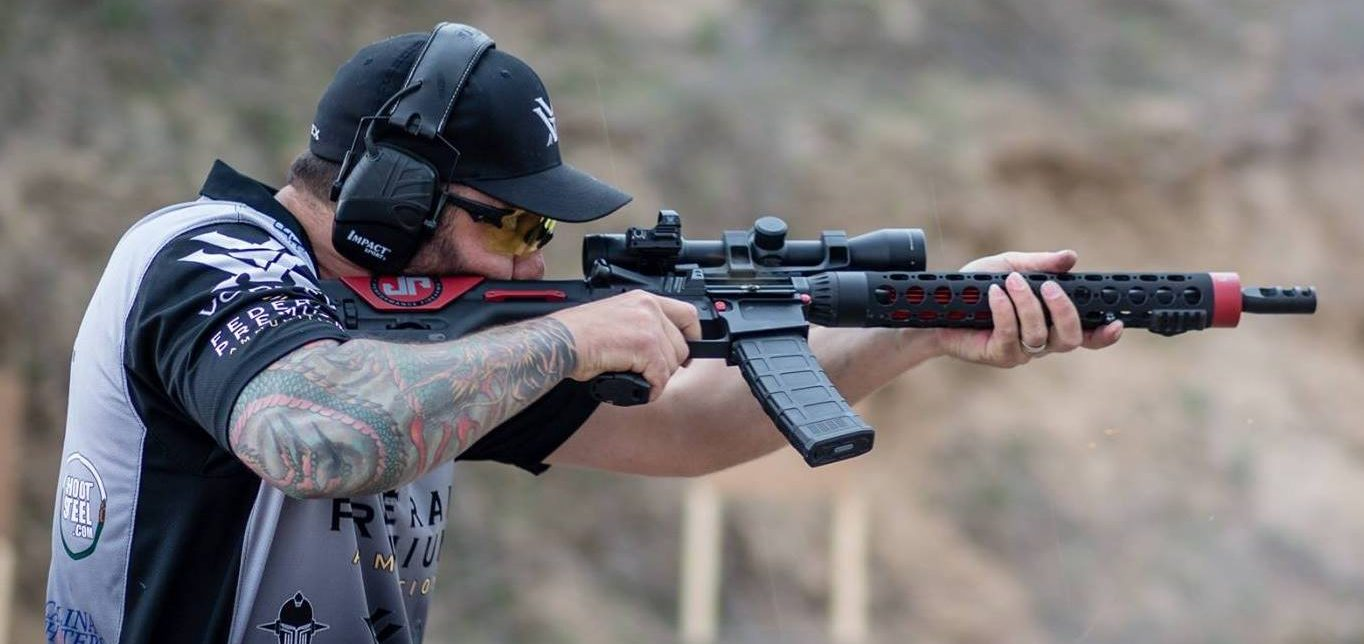 AR-15 competition rifle