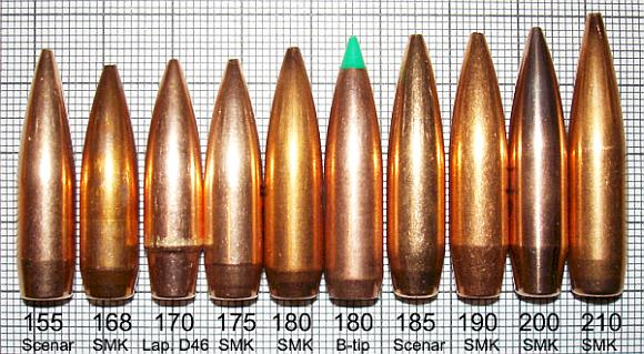 308 projectiles