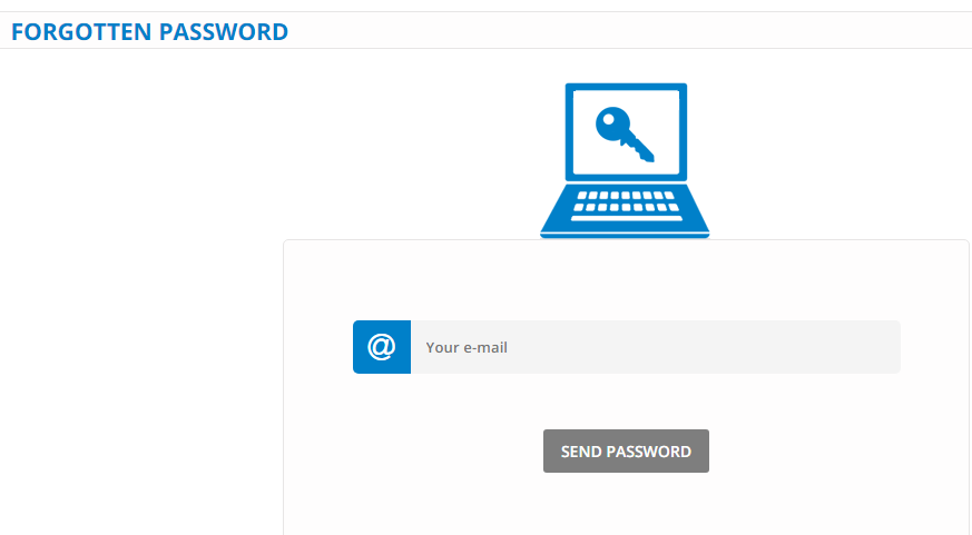 FastShare Forgot Password