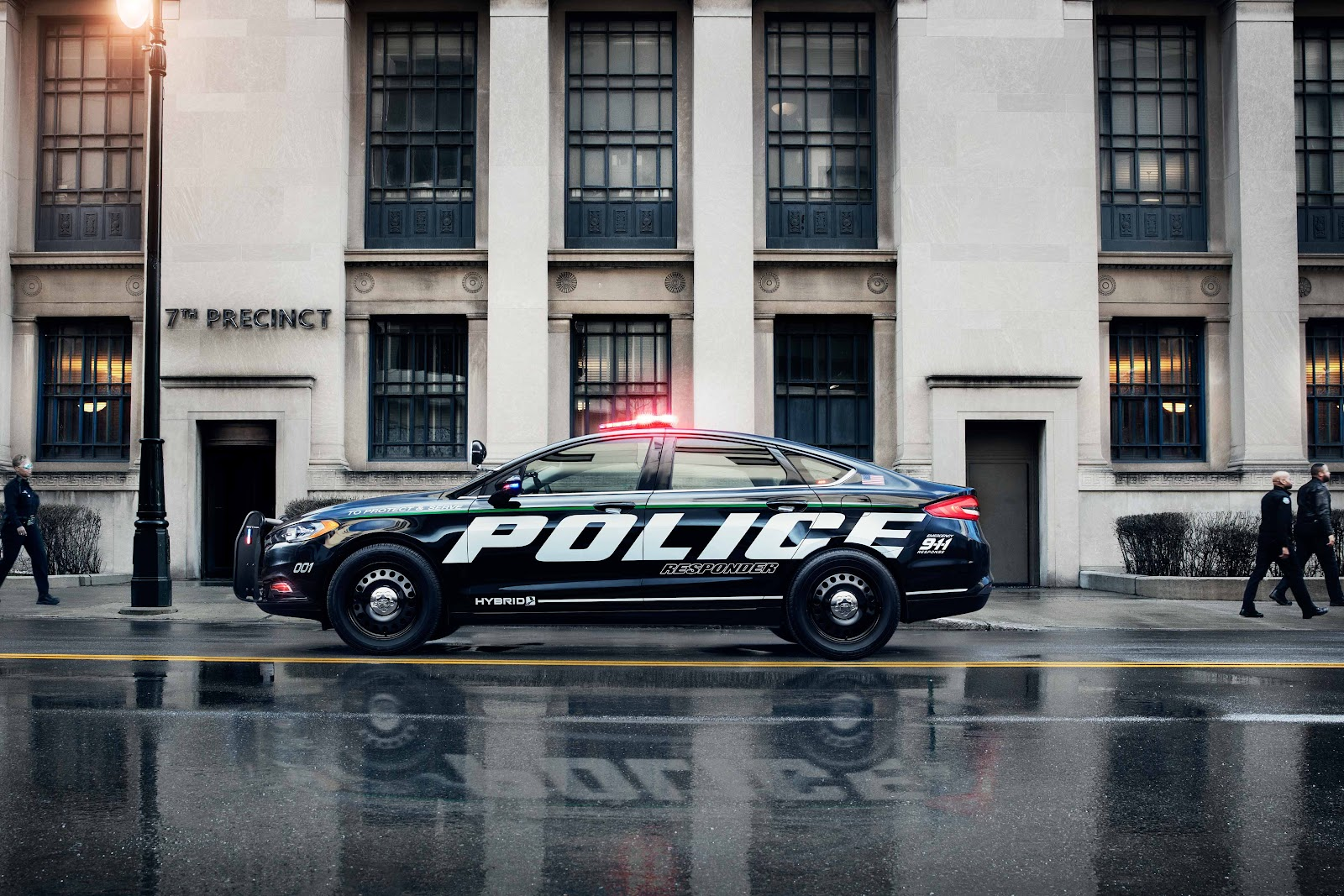 Red, Blue, And Green? How Patrol Cars Are Going Hybrid | Mad