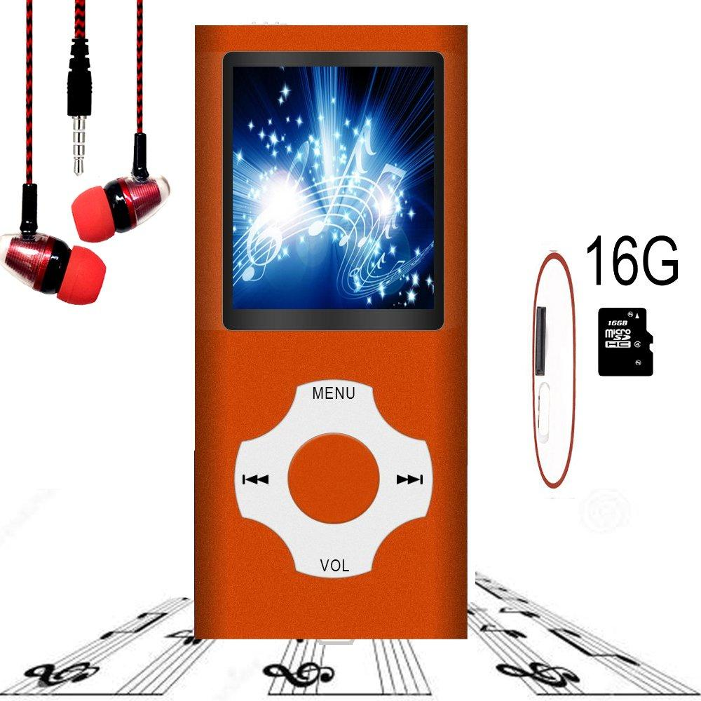 Hotechs MP3 Music Player (Best For Kids MP3 Player)