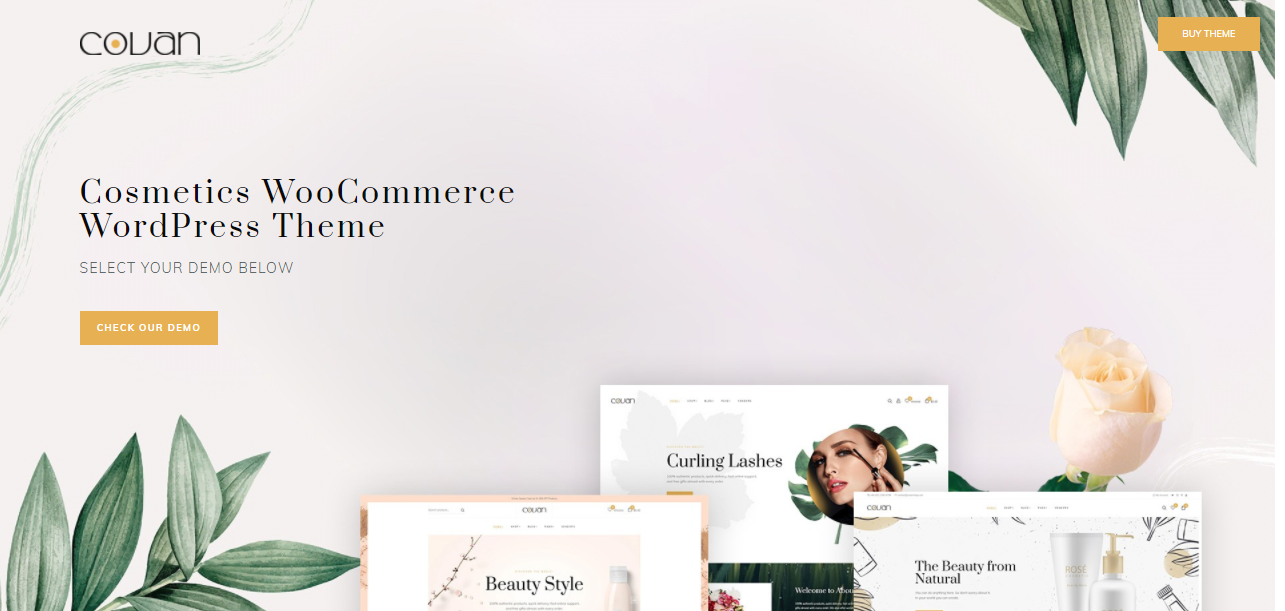 Covan - Cosmetic Woocommerce theme