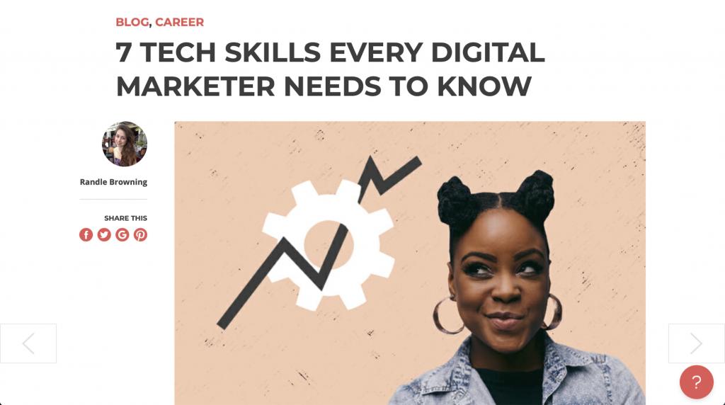 7 Tech-Skills, die jeder Digital-Marketer kennen muss – skillcrush