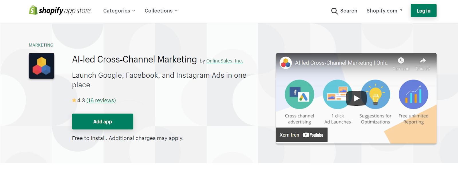 ai-led cross-channel marketing shopify app