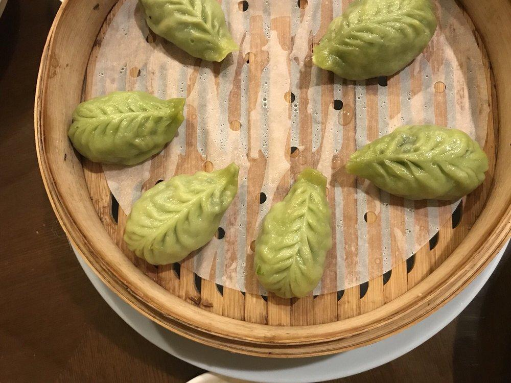 Photo of Din Ding Dumpling House - Fremont, CA, United States. Steamed vegetable dumplings