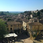 The view from Saint-Emilion