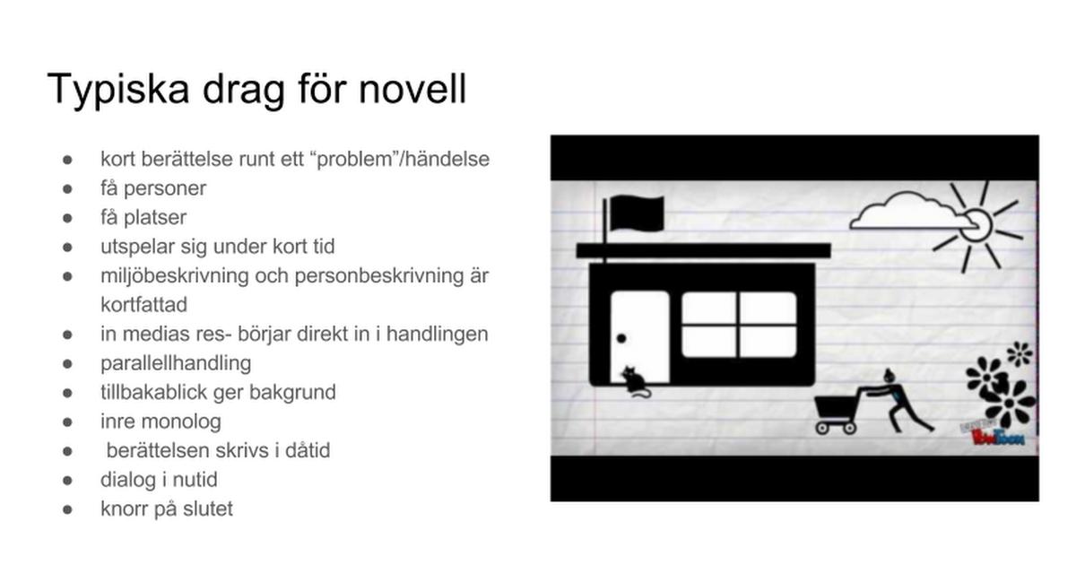 Personbeskrivning Novell