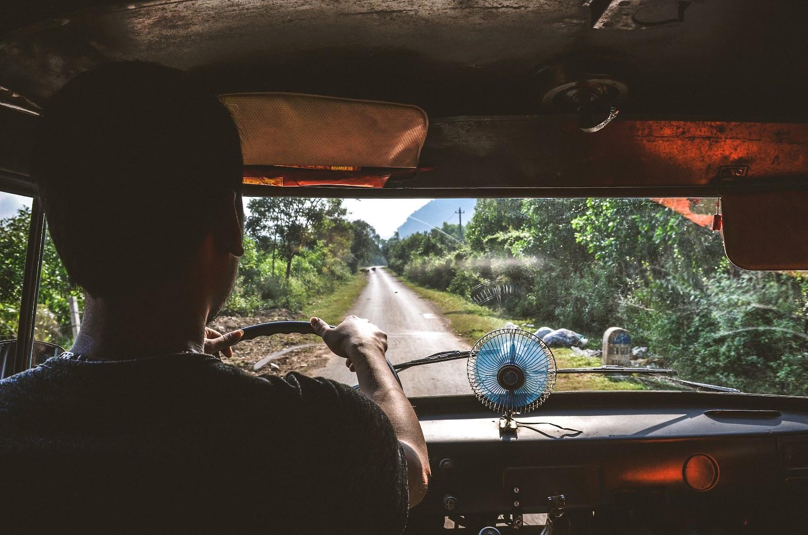 Driving with Jungle Boss : Exploring Fantastic Phong Nha with Jungle Boss