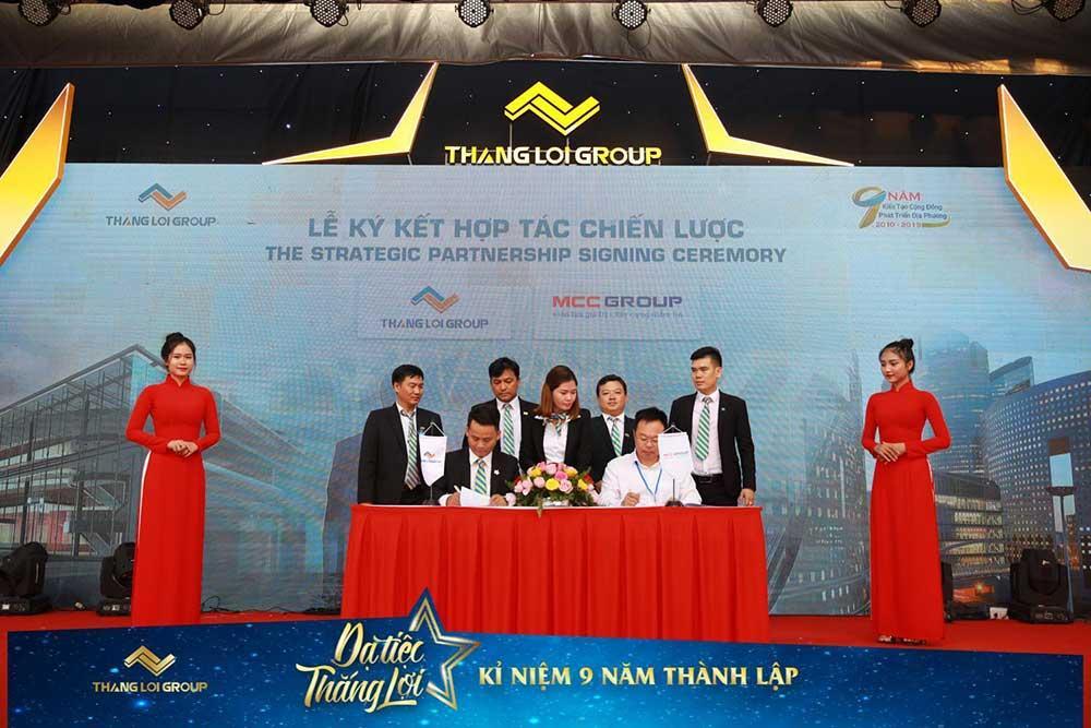Sự hợp tác chiến lược giữa MCC Group và Thắng lợi Group