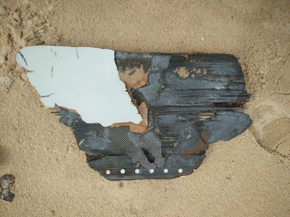 Riake Beach, Madagascar, debris piece number 4-6