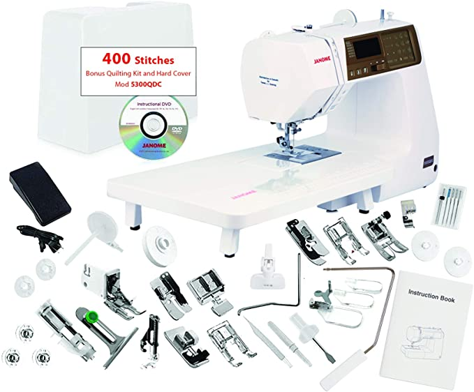 Janome 5300QDC 400 Stitch Sewing Machine - best heavy duty sewing machine