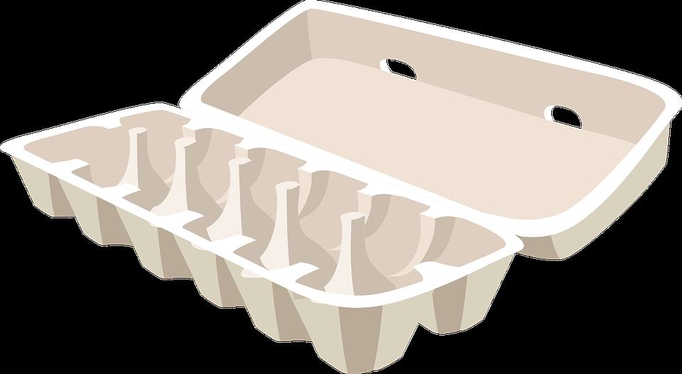 Kostenlose Vektorgrafik: Eierkarton, Karton, Ei, Box, Eier ...
