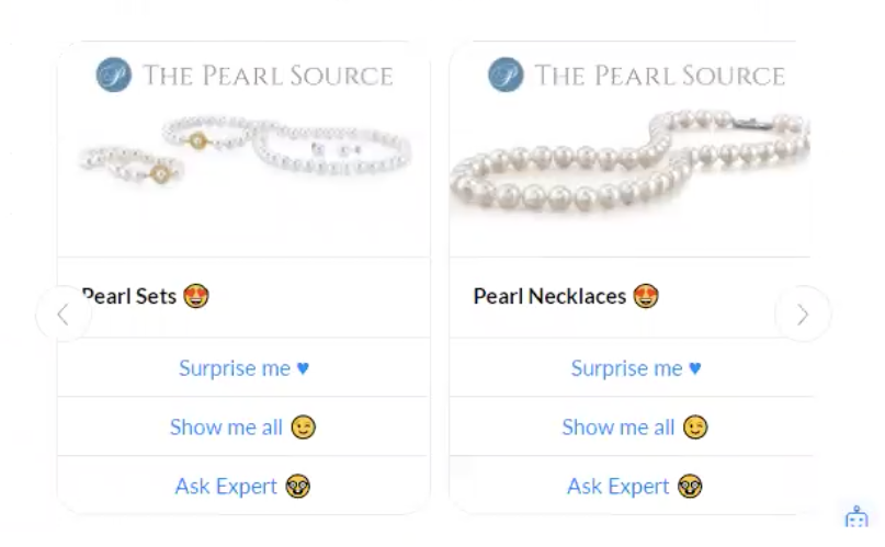 The Pearl Source Messenger Bot example