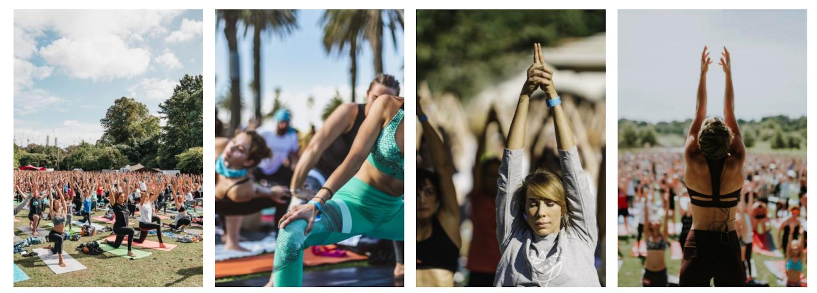 Yoga Festival panels   Wanderlust