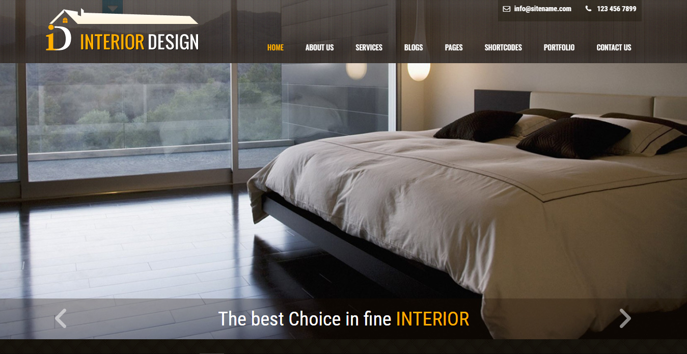template wrodpress company profile interior lite