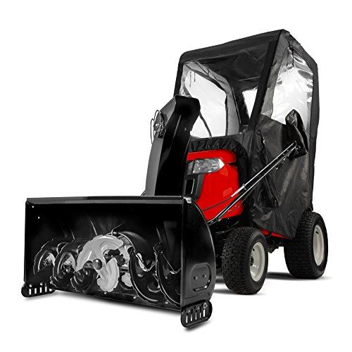 The MTD Genuine Parts Three Stage Snow Thrower is one of the best tractor snow blower combinations
